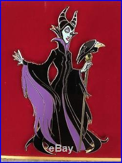 Disney Acme Maleficent Jumbo Pin LE 100 Diablo Villain Sleeping Beauty Pin