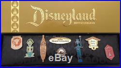 Disney Adventureland Tiki Room Swiss Family Treehouse Jungle Cruise 8 Pin Set