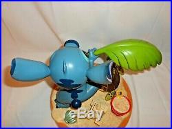 Disney Art of Theme Parks Stitch Medium Figurine Statue 10th Anniversary Beach