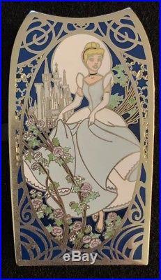 Disney Auctions Art Nouveau Series Jumbo Cinderella Pin LE /100 37141 DA Castle