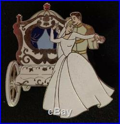 Disney Auctions Cinderella Prince Charming Wedding Pin LE /100 43649 HTF Jumbo