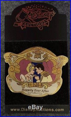 Disney Auctions Happily Ever After Cinderella and Prince Pin LE /100 38158 HTF