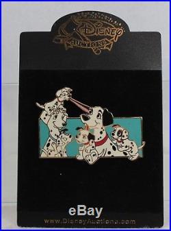 Disney Auctions LE 100 Pin 38180 Jumbo 101 Dalmatians Family Group Cast