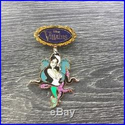 Disney Auctions LE 100 Pin 48735 Villains Spinner Ursula Vanessa Ariel