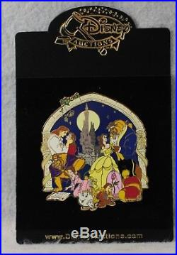 Disney Auctions LE 100 Pin Jumbo Beauty and the Beast Storybook Jumbo Belle