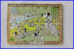 Disney Auctions LE 100 Pin Masterpiece Series 45984 101 Dalmatians