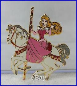 Disney Auctions LE 100 Pin Sleeping Beauty Princess Aurora Carousel