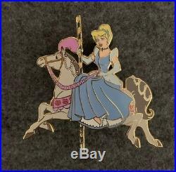 Disney Auctions Princess Carousel Horse Cinderella Pin LE /100 23955 DA HTF Rare