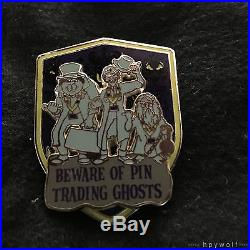 Disney BEWARE OF PIN TRADING NIGHT GHOSTS XXX Hitchhiking Ghosts Haunted Mansion