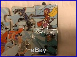 Disney BIG HERO 6 Character Connection Pin Mystery Puzzle Complete set of 10