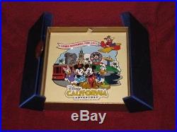Disney California Adventure Grand DCA Large Jumbo Pin Limit Edition 500 LE Boxed