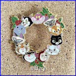 Disney Cat Fantasy Pin Marie Cheshire Dinah Oliver Lucifer Si Am Figaro Yzma Etc
