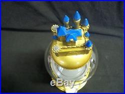 Disney Celebrating 50 Years of Disney Theme Parks Gumball Machine Metal & Glass