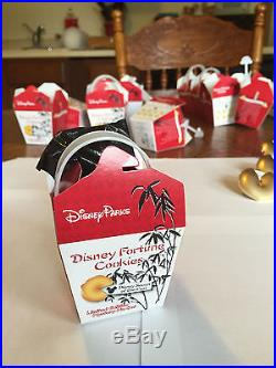 Disney Chinese Fortune Cookie Complete Pin Set WITH CHASERS