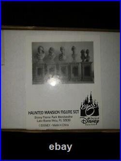 Disney Classic The Haunted Mansion Pillar Bust Set theme park merchandise
