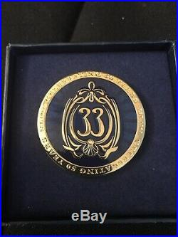 Disney Club 33 50th Anniversary Logo 2017 LE 500 PIN Rare NIB