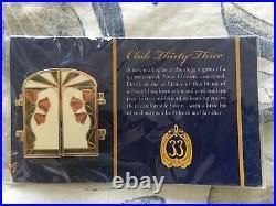 Disney Club 33 Grand Re-Opening Gates & Logo Pin LE 1000 NIP RARE
