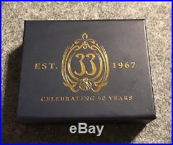 Disney Club 33 LE 50th Anniversary Pin for August, Cinderella