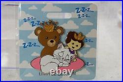 Disney D23 2019 WDI LE 300 Pin Kitty Cat Naps Princess & the Frog Marcel Zzzzz