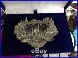 Disney D23 WDI EXCLUSIVE 60th Anniversary Stained Glass Diamond Jumbo Pin