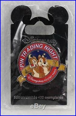 Disney DLRP Paris Pin Trading Night Chip Dale Chipmunks LE 400 Pin