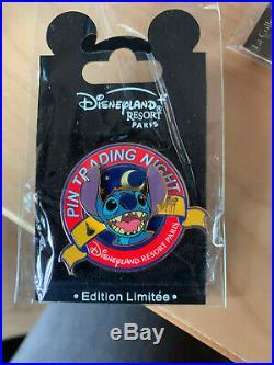 Disney DLRP Pin trading night Profile Stitch HTF LE 300