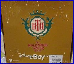 Disney DLRP Tower Of Terror LE Rare HTF 4 Pin Set