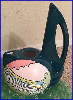 Disney DLR 50th Anniversary Tomorrowland Ceramic Tea Set MIB