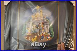 Disney DLR Building the Dream (8 Pin Framed Set)