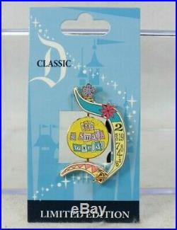 Disney DLR Classic D LE 1000 Pin It's a Small World Spinner Clockface