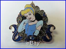 Disney DLR Disney Girls Reveal/Conceal Mystery Collection Cinderella Pin LTD