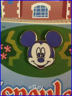 Disney DLR GWP Disneyland Attractions 9 Mini Map Pin & Map LE Set IMC