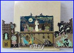 Disney DLR LE 250 Pin 70668 DLR Haunted Mansion O'Pin House Diorama Jumbo Hatbox