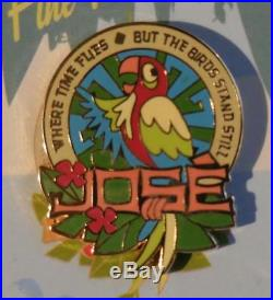 Disney DLR The Enchanted Tiki Room Collection 2008 GWP Pin Set of 6 Pins + Map