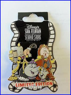Disney DSF 2007 Friends of Beauty and the Beast Surprise Release Pin LE150