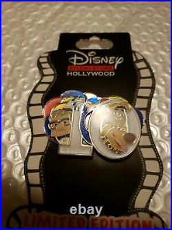 Disney DSF DSSH 10th Anniversary Pin LE 200 Up Pixar Carl Russell Kevin Surprise