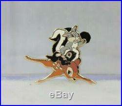 Disney DSF DSSH GWP LE 150 Pin Bambi DVD/Blu-Ray Preorder Flower Thumper