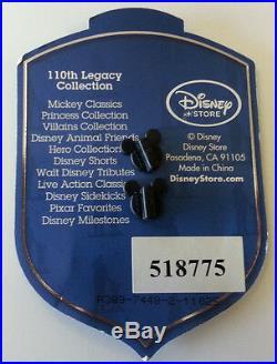 Disney DST 110th Legacy Collection 101 Dalmatians Pin LE250