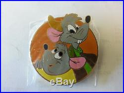 Disney Disney Auctions Animal Pals Set Gus and Jaq Pin LE100