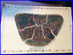 Disney Disneyland 45th Birthday Celebration LE 1955 Six Pin Map Set
