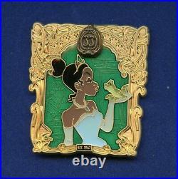Disney Disneyland Club 33 50th Tiana Princess & the Frog Boxed LE 500 Pin