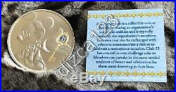 Disney Disneyland Club 33 Challenge Coin 2018 Mickey Mouse Key NEW