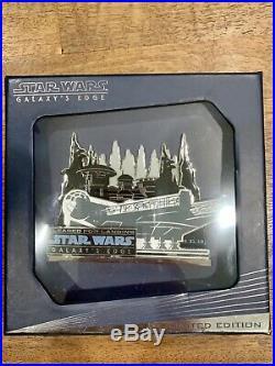 Disney Disneyland Galaxys Edge Opening Day Millennium Falcon Jumbo Pin LE 1000