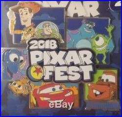 Disney Disneyland Park Pixar Fest 2018 Jumbo Logo Annual Passholder Pin LE 1,000