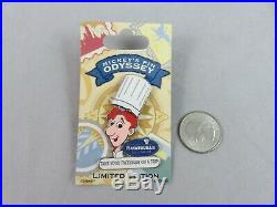 Disney Disneyland Pin Mickey's Pin Odyssey Remy and Linguini Ratatouille