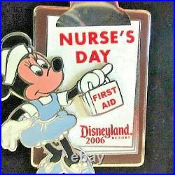 Disney -Disneyland Resort 2006 Nurse's Day Pin Minnie First Aid Kit LE of 1000
