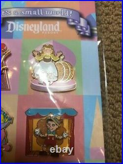 Disney Disneyland Resort It's a Small World Pin Set Limited Edition 1000 LE RARE