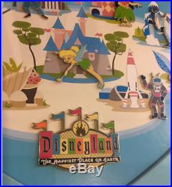 Disney Disneyland Retro Collection Pirates Mansion Tiki Teacups Framed Set Pin
