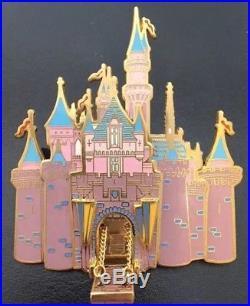 Disney Disneyland Sleeping Beauty Castle Hinged Drawbridge Cast