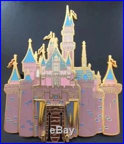 Disney Disneyland Sleeping Beauty Castle Hinged Drawbridge Cast Exclusive Pin